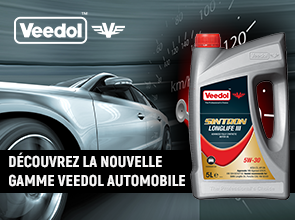 Nouvelle gamme Veedol Auto