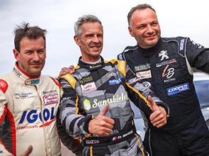 Course n°1 : Rallycross Lessay le 13 et 14 Avril - Félicitation à Laurent Bouliou pour sa 3ème place.