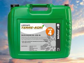 TERRE-AGRI E6/E9 ENGINE OIL 10W-40